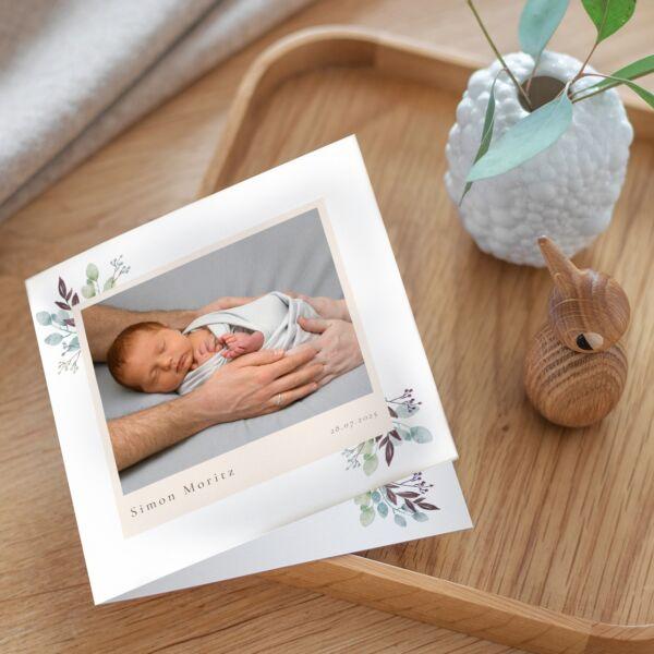 Geburtskarte Olive