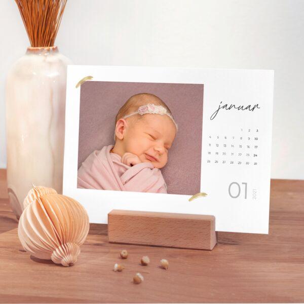 Tischkalender Goldschatz